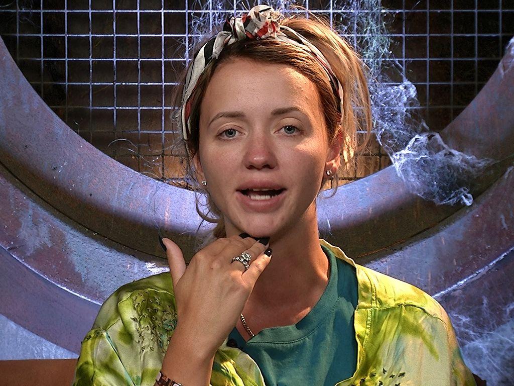 """Cathy Lugner in einer Szene von """"Promi Big Brother"""""""