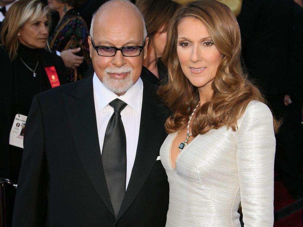 René Angélil und Celine Dion auf einer Gala