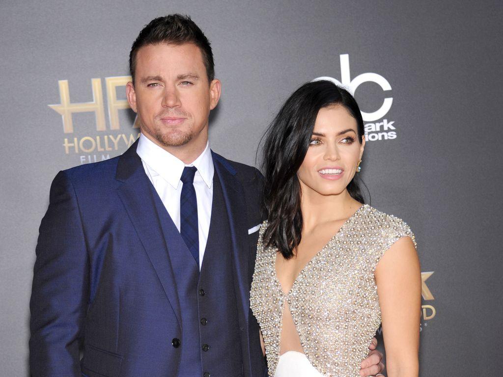 Channing Tatum und seine Frau Jenna Dewan