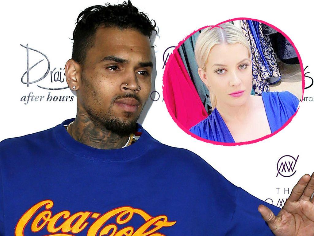 Chris Brown und Baylee Curran