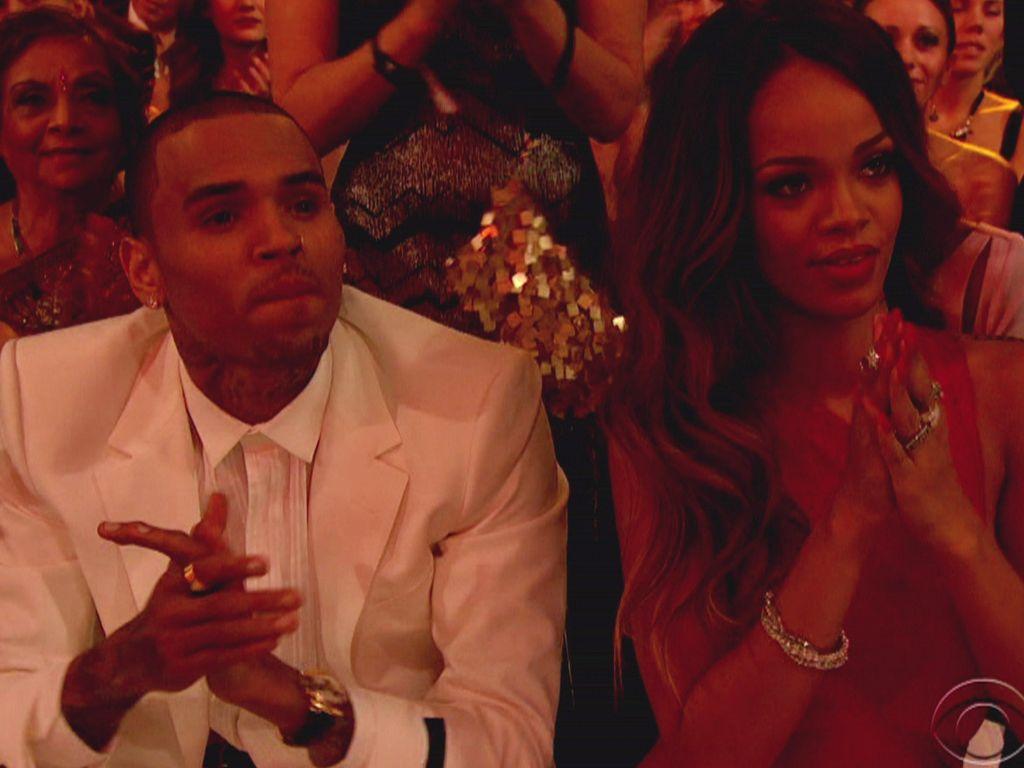 Chris Brown und Rihanna bei den Grammys