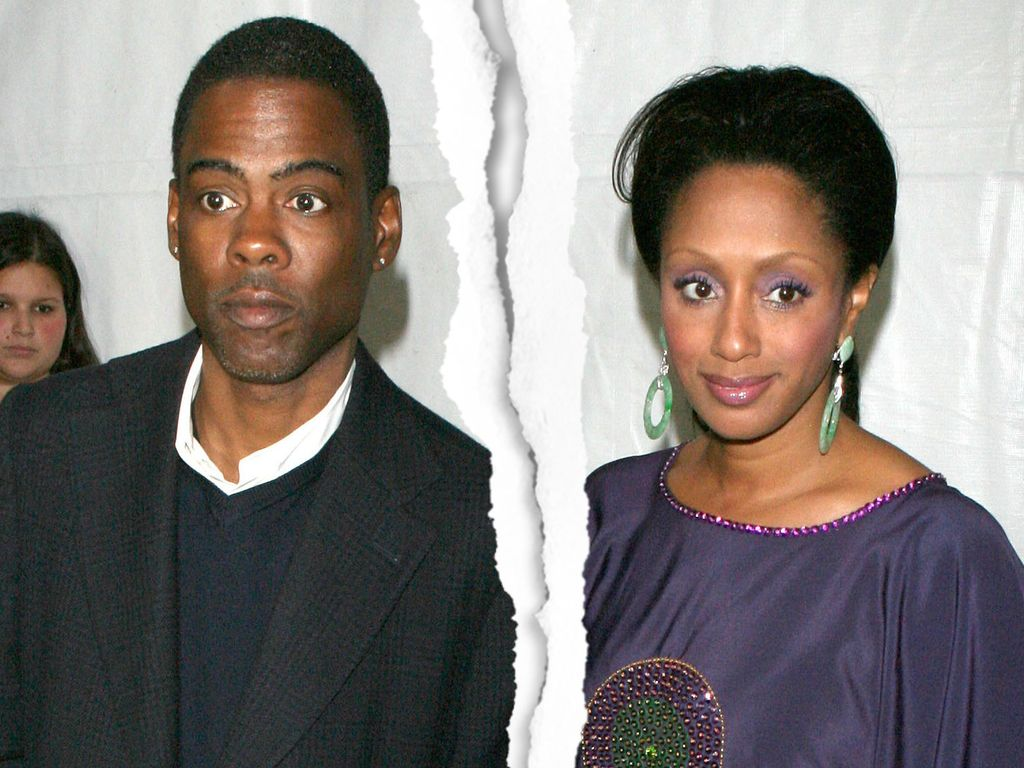 Chris Rock und Malaak Compton-Rock