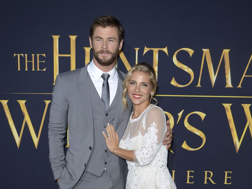 "Chris Hemsworth und Elsa Pataky bei der ""The Huntsman & The Ice Queen""-Premiere"