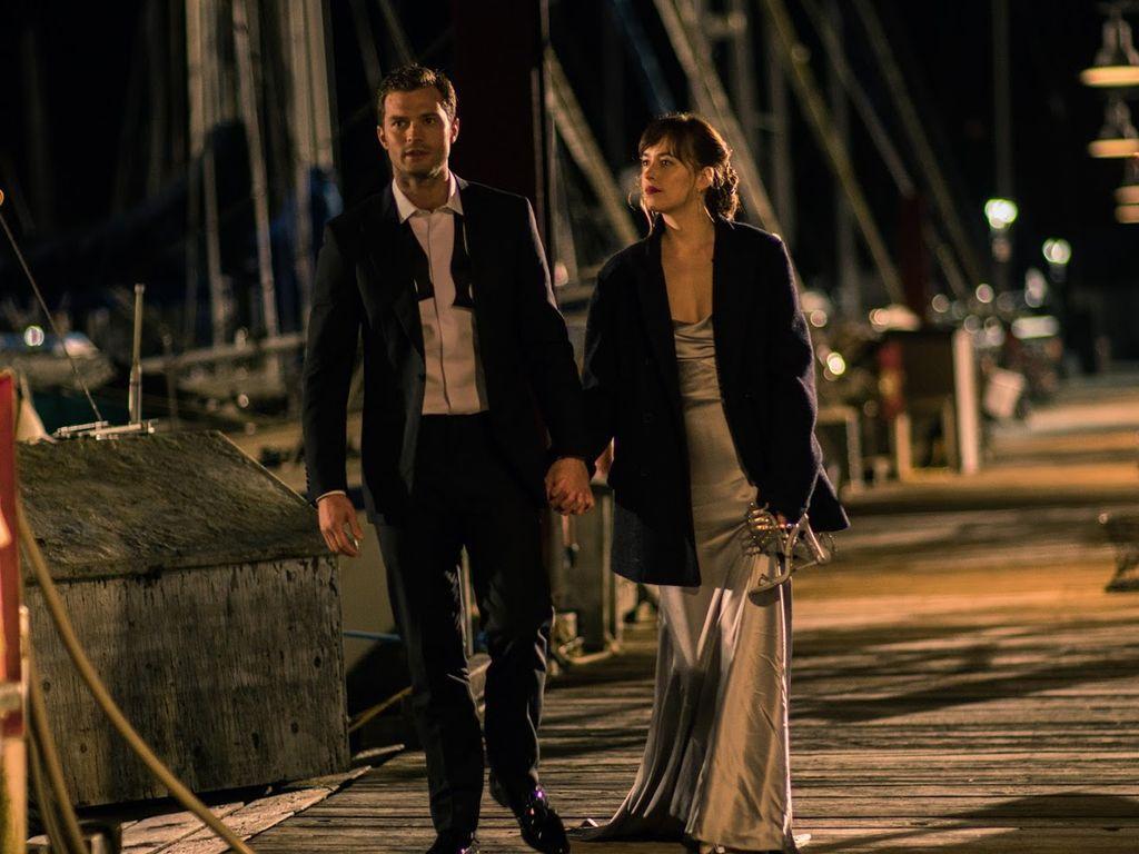 Christian Grey (Jamie Dornan) und Anastasia Steele (Dakota Johnson)