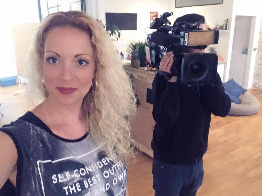 """Cindy Riedel wird jetzt Schauspielerin in der Sat.1-Serie """"Verdächtig – Knopf & Team übernehmen"""""""