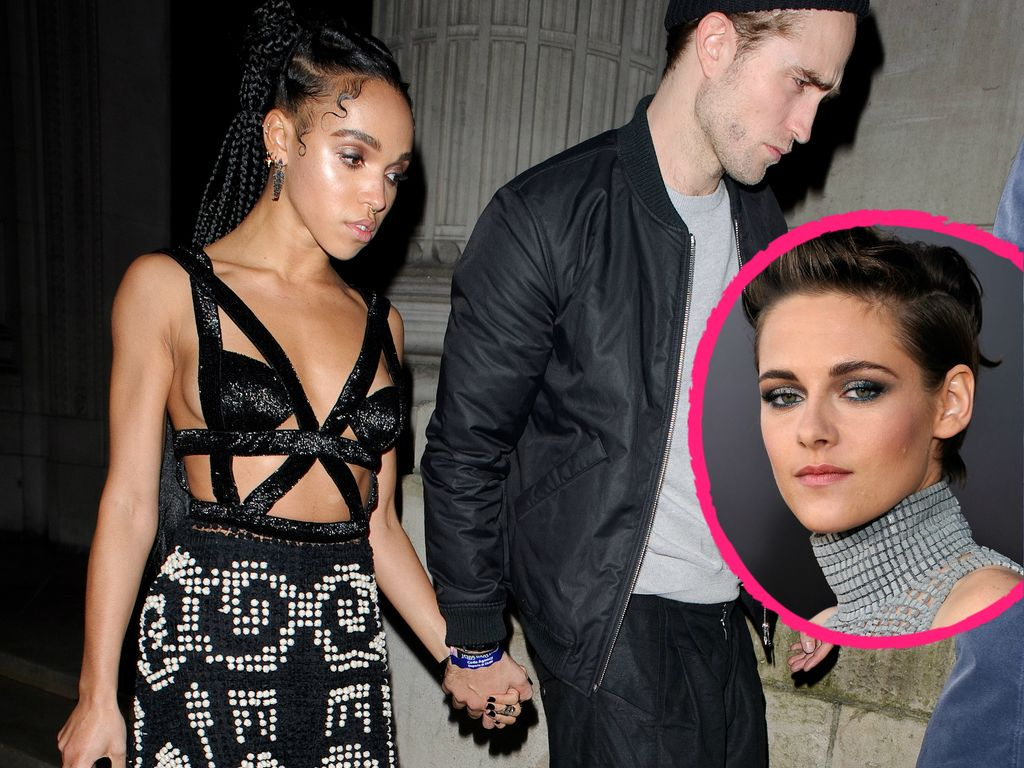 Kristen Stewart, Robert Pattinson und FKA Twigs