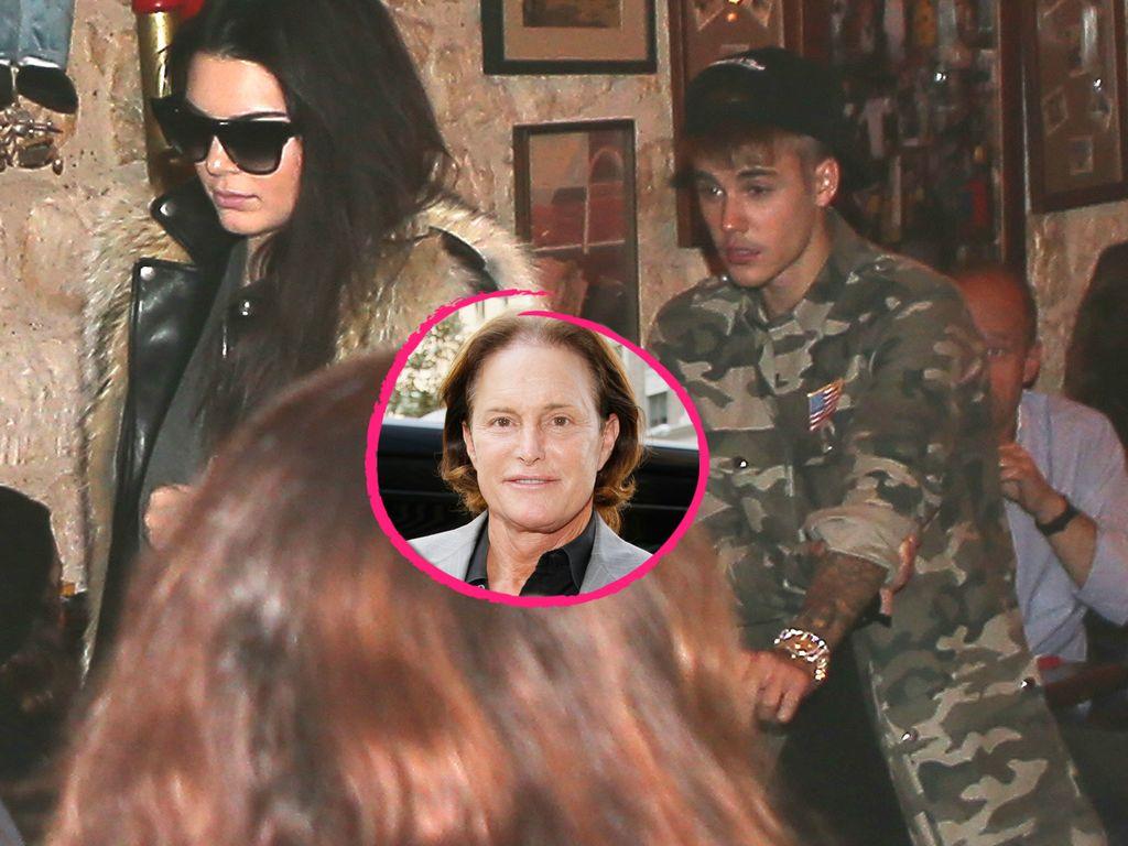 Justin Bieber, Kendall Jenner und Bruce Jenner