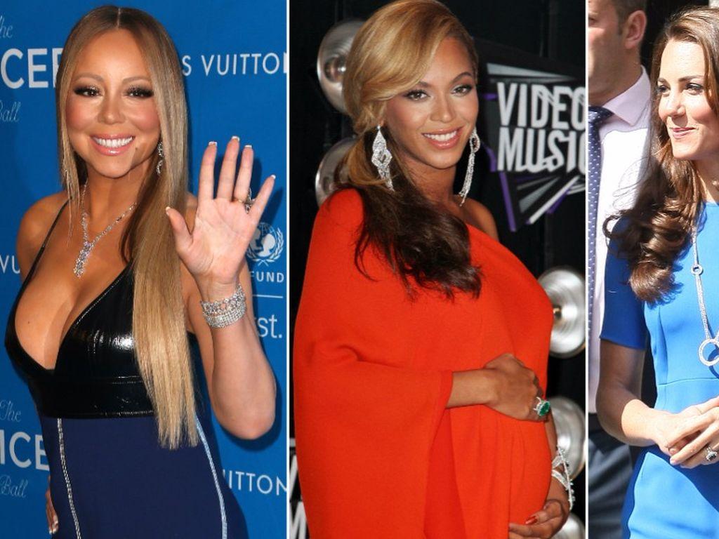 Herzogin Kate, Beyonce und Mariah Carey