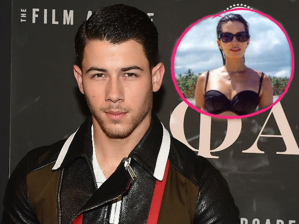 Nick Jonas und Model Sarah Duque Lovison