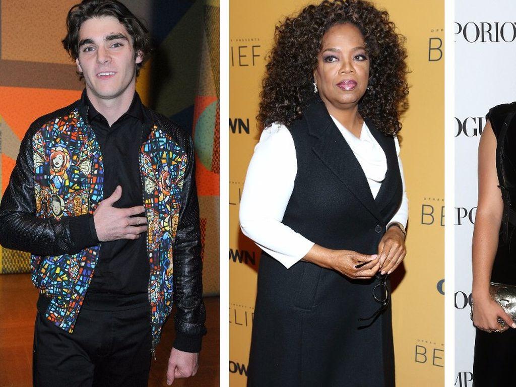 Ariel Winter, Oprah Winfrey und RJ Mitte