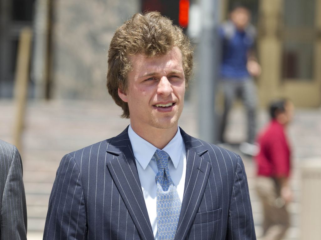 Conrad Hilton vorm Gericht in Los Angeles