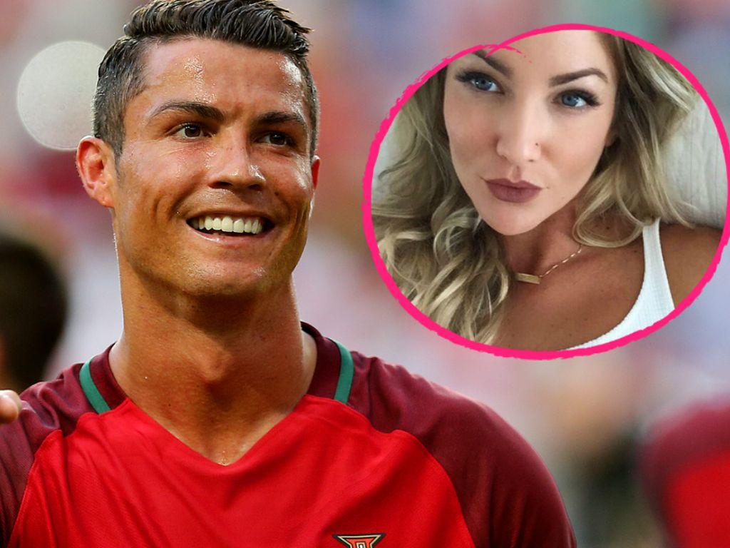 Cristiano Ronaldo und Cassandre Davis