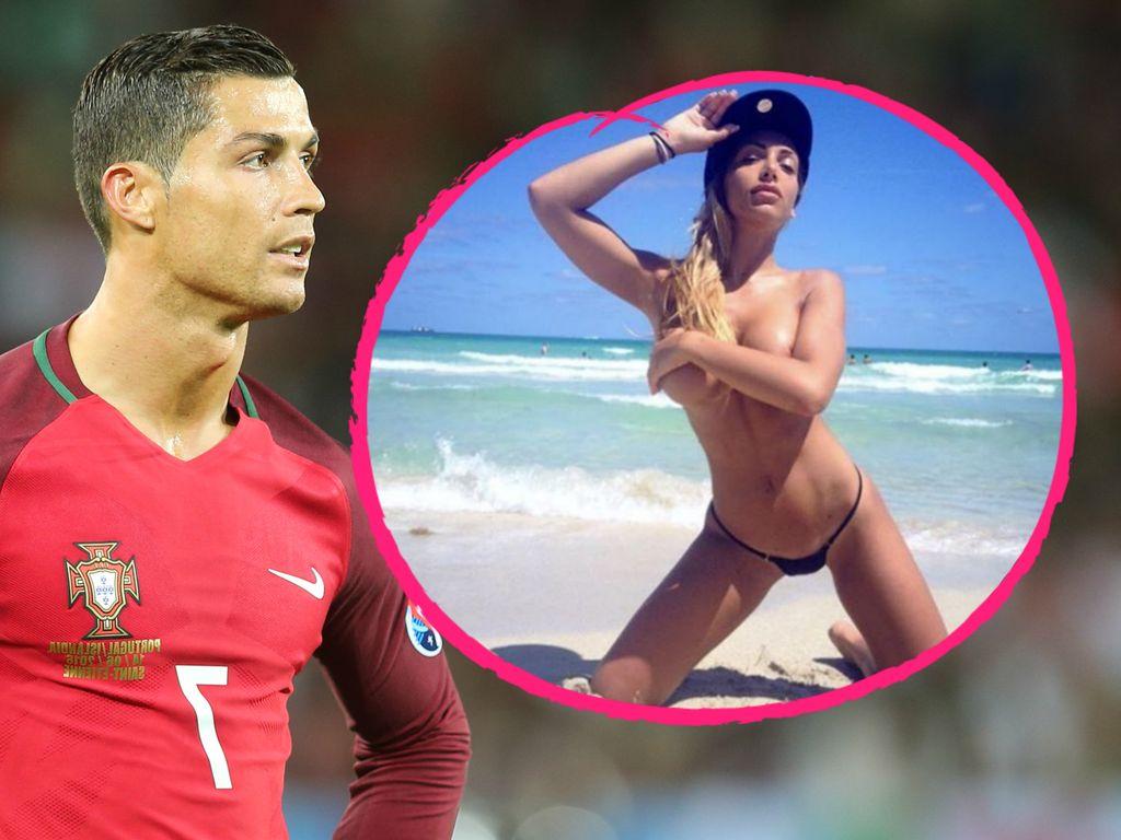 Cristiano Ronaldo und Elisa De Panicis