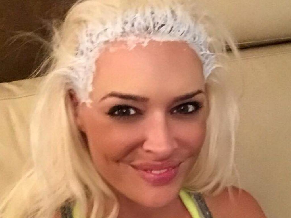 Daniela Katzenberger beim Friseur