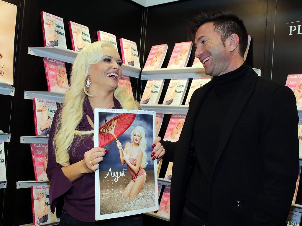 Daniela Katzenberger und Lucas Cordalis auf der Frankfurter Buchmesse