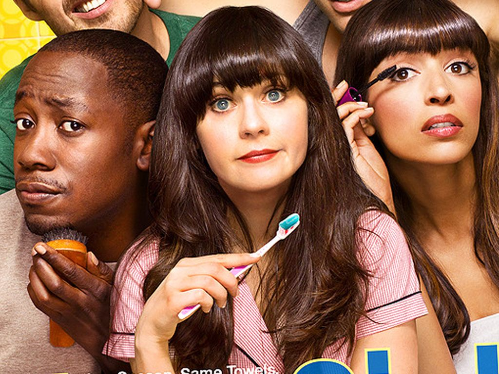 """Das Poster zur zweiten """"New Girl""""-Staffel"""