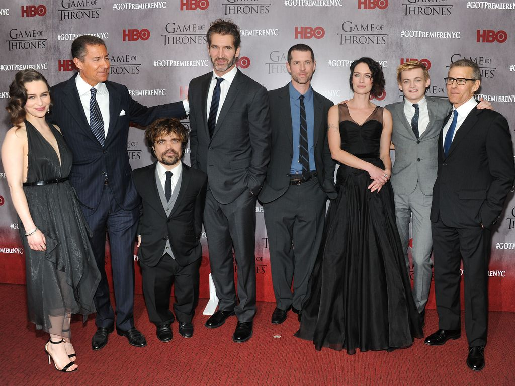 Emilia Clarke, Lena Headey, Peter Dinklage und Jack Gleeson