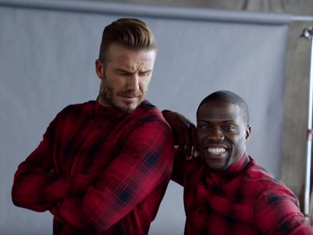 David Beckham und Kevin Hart