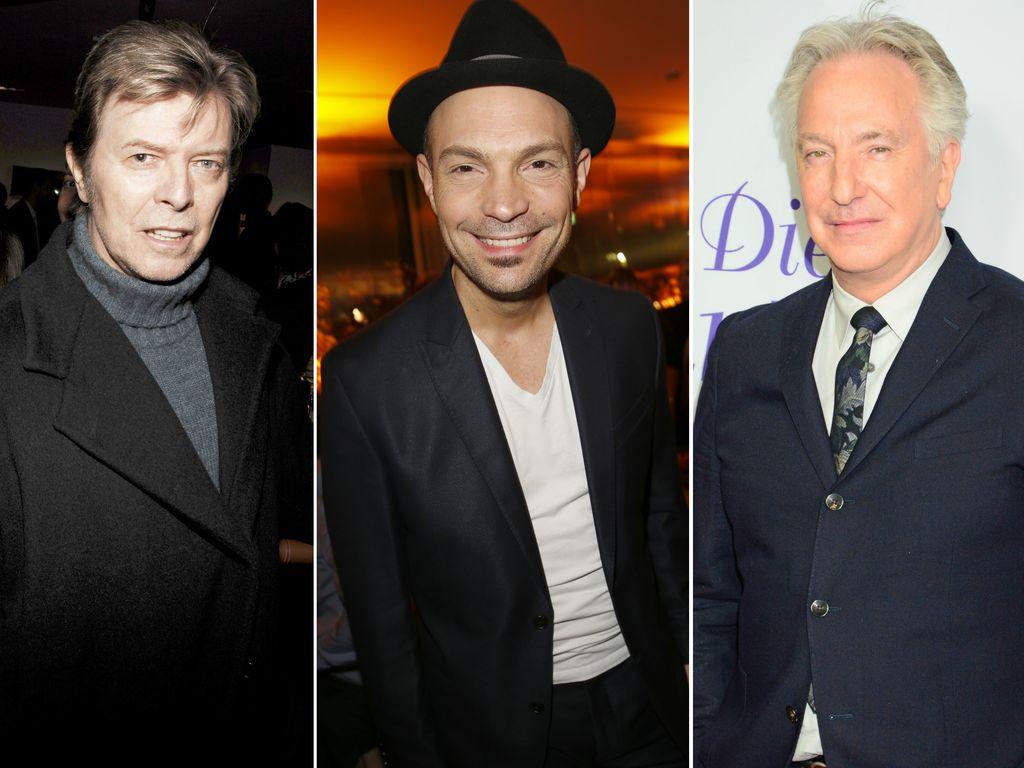 Roger Cicero, Alan Rickman und David Bowie