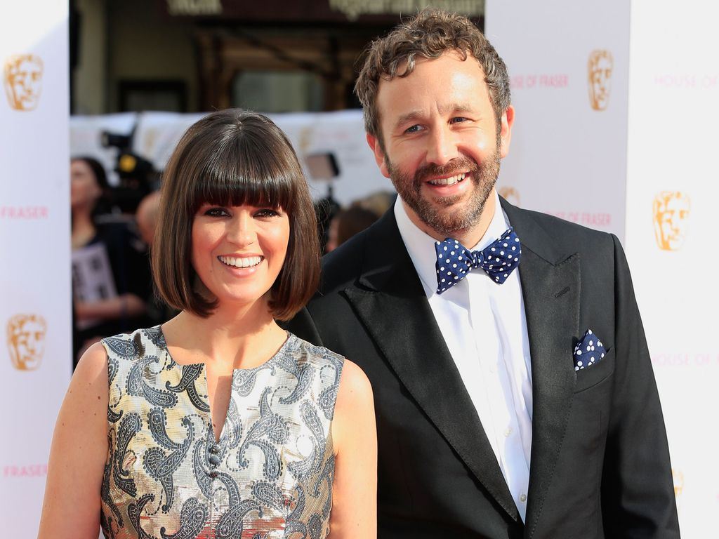 "Dawn O'Porter and Chris O'Dowd bei den ""British Academy Television""-Awards in London"
