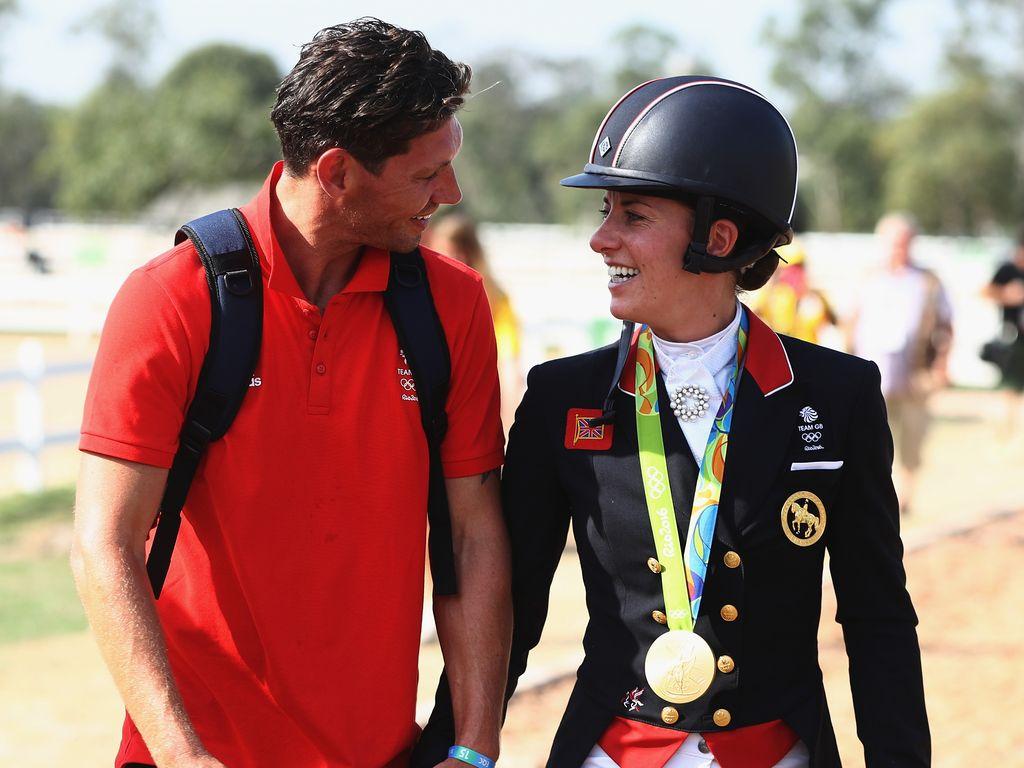 Dean Wyatt Golding und Charlotte Dujardin in Rio