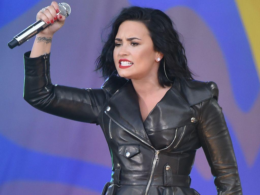 """Demi Lovato bei einem """"Good Morning America""""-Auftritt"""