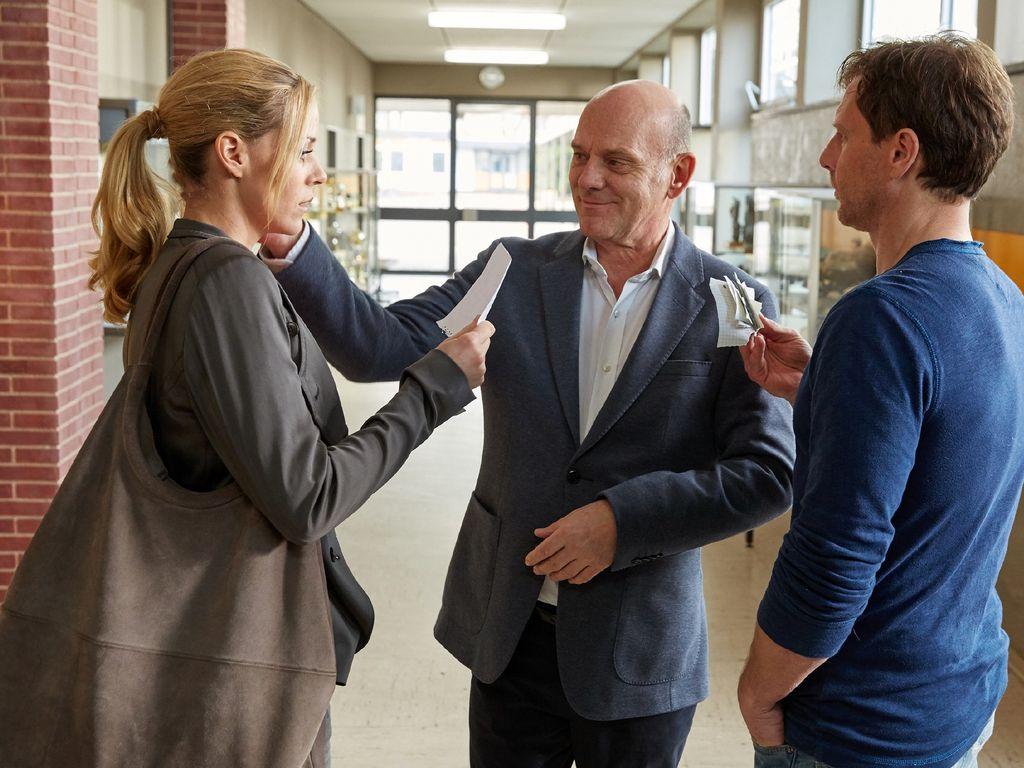 """""""Der Lehrer"""" mit Jessica Ginkel, Uli Gebauer und Hendrik Duryn"""
