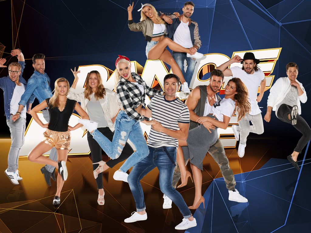 """Die Teilnehmer von """"Dance Dance Dance"""""""
