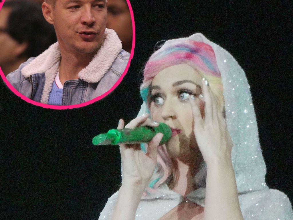Katy Perry und DJ Diplo