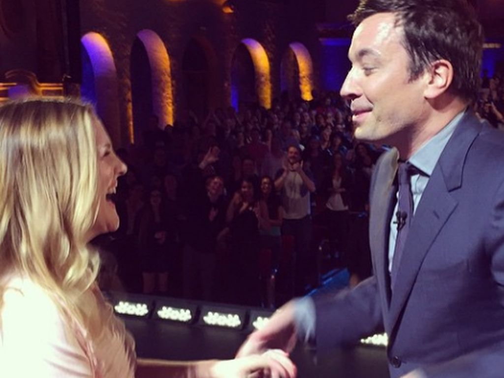 Jimmy Fallon und Drew Barrymore