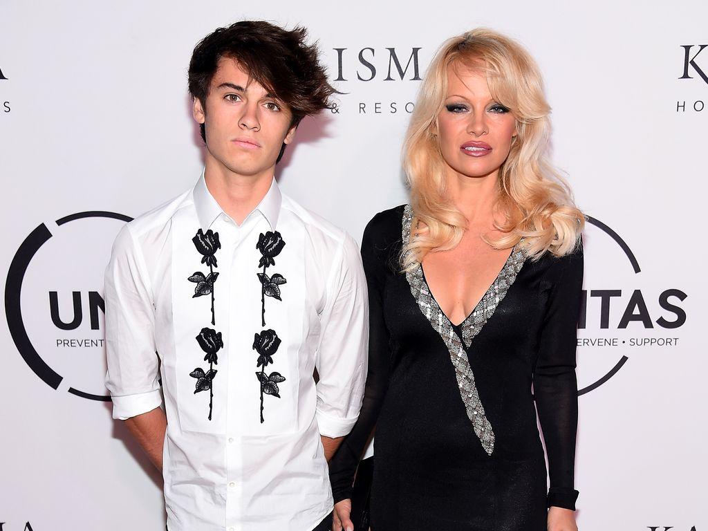 Dylan Jagger Lee und Pamela Anderson bei der UNITAS Gala Against Human Trafficking