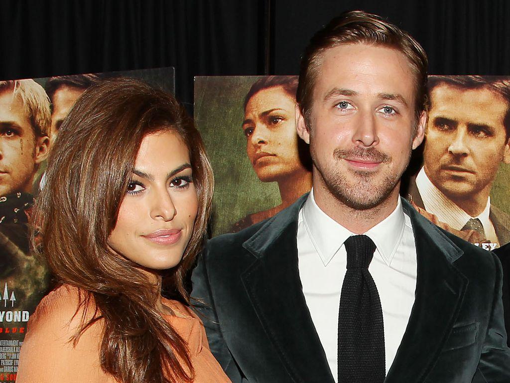 Eva Mendes und Ryan Gosling in NYC