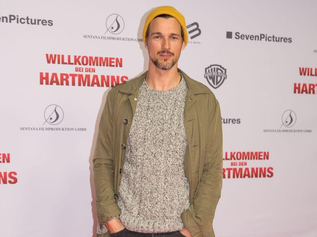 """Florian David Fitz auf der Kinopremiere von """"Willkommen bei den Hartmanns"""" in Berlin"""