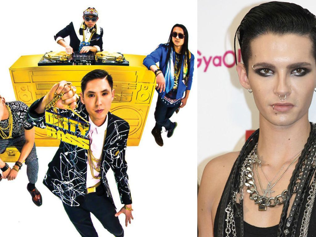 Bill Kaulitz und Far East Movement