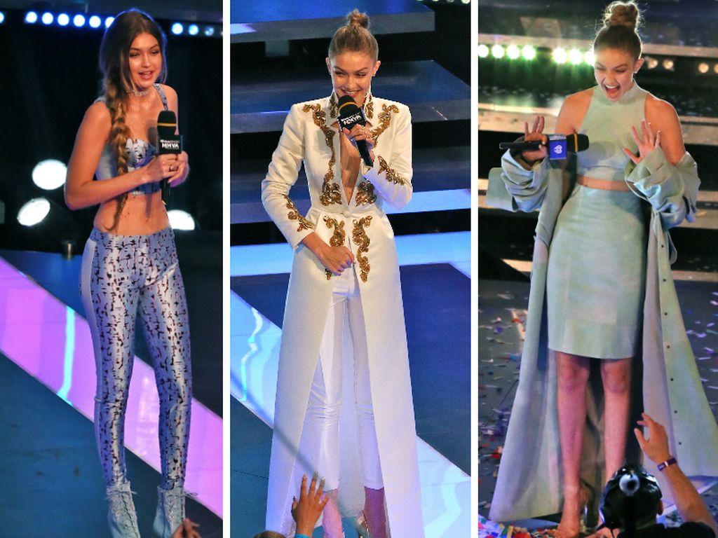 """Gigi Hadids Bühnenlooks bei den """"iHeartRADIO MuchMusic Video Awards"""" 2016"""