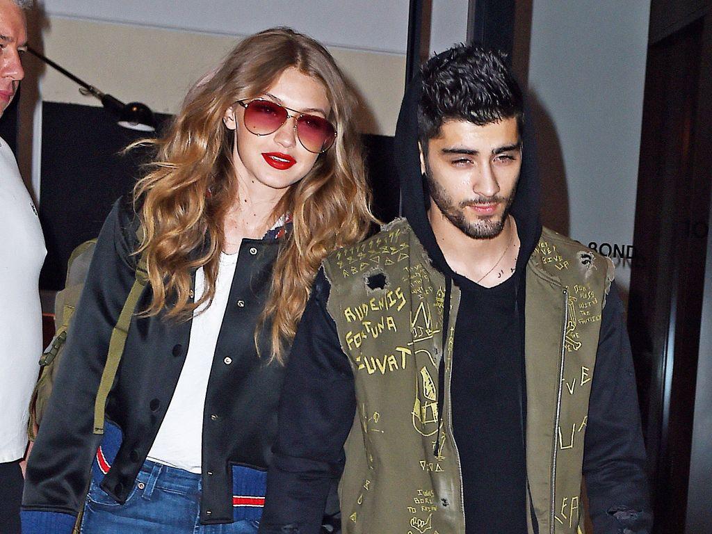 Gigi Hadid und Zayn Malik auf dem Weg zum Flughafen in NYC