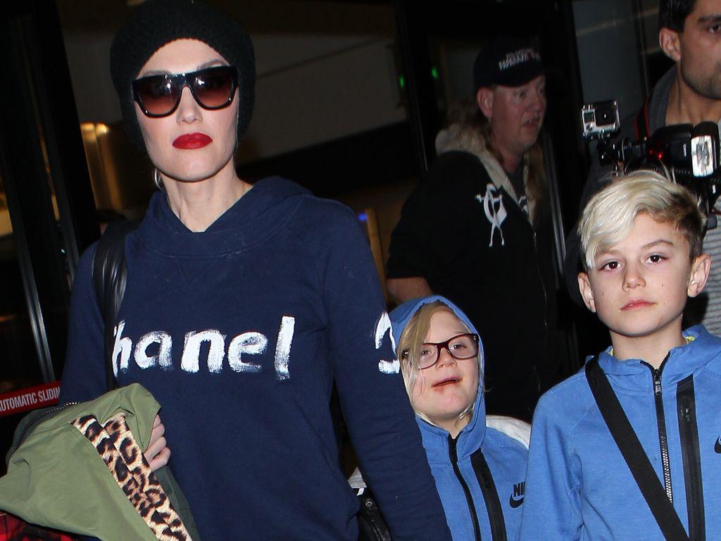 Gwen Stefani, Zuma Rossdale und Kingston Rossdale