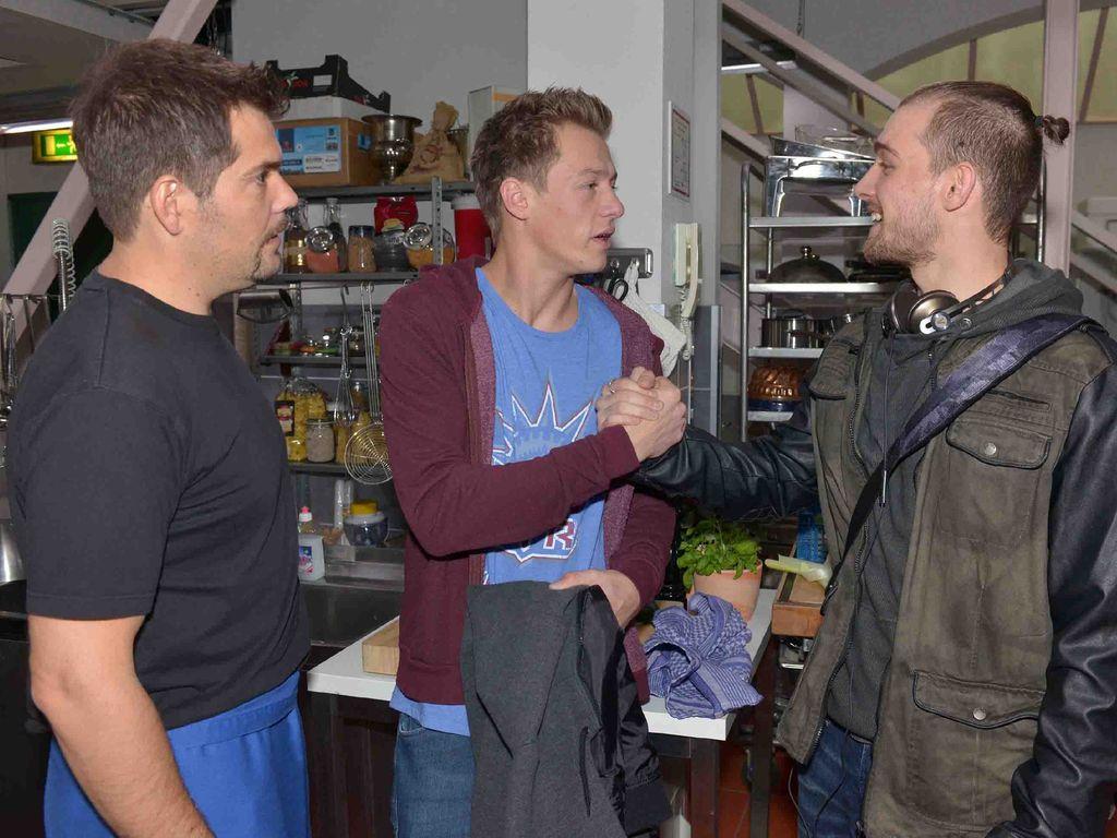 Eric Stehfest, Daniel Fehlow und Vincent Krüger