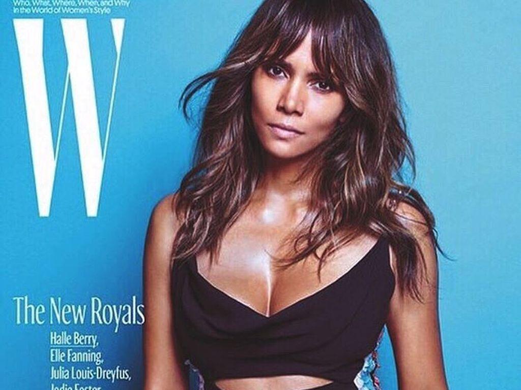 Halle Berry auf dem W-Mag-Cover
