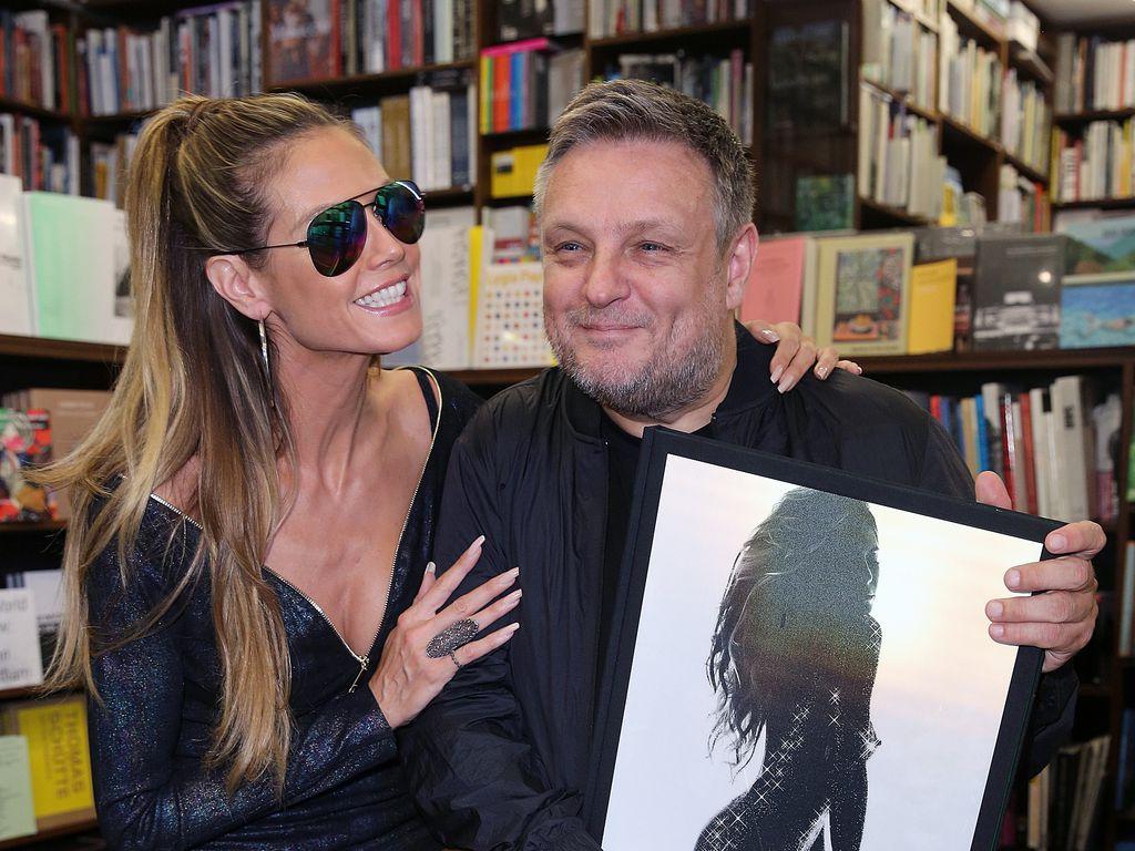 Heidi Klum und Rankin bei der Autogrammstunden in Köln
