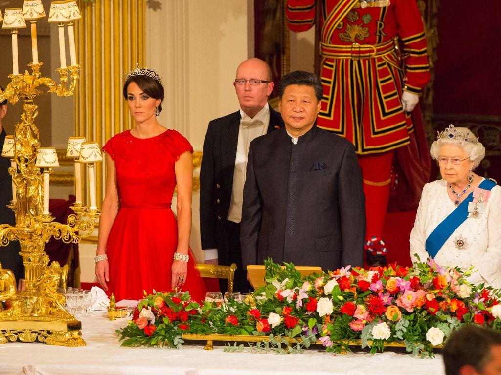 Herzogin Kate und Queen Elizabeth II.
