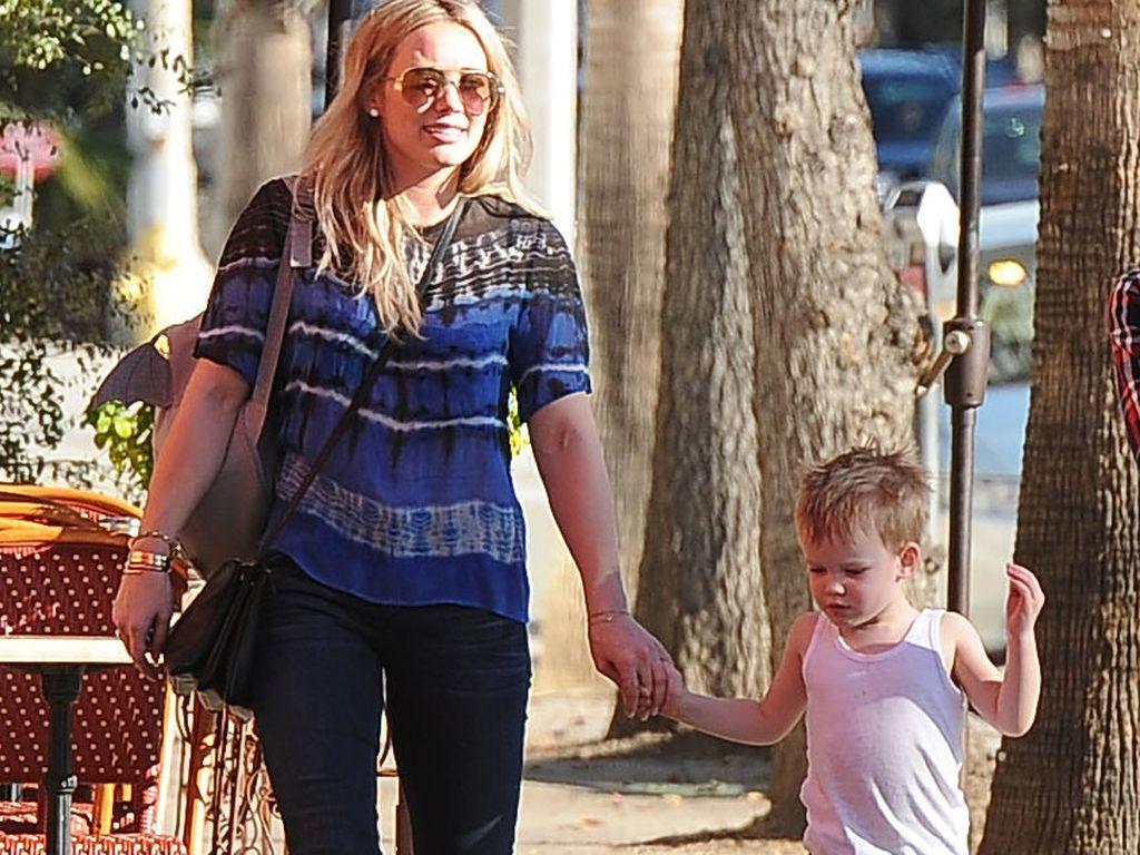 Hilary Duff und Luca Comrie