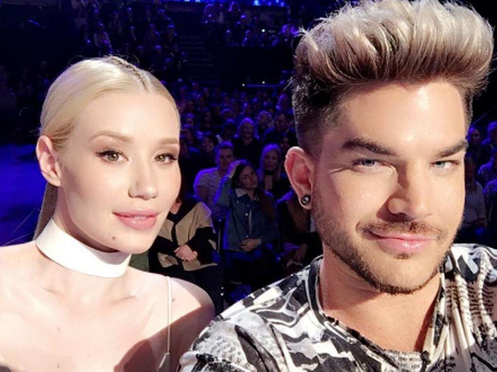 Iggy Azalea und Adam Lambert bei The X Factor Australia