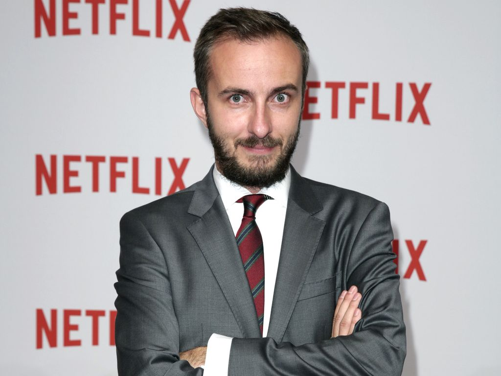 Jan Böhmermann bei der Netflix Party in Berlin