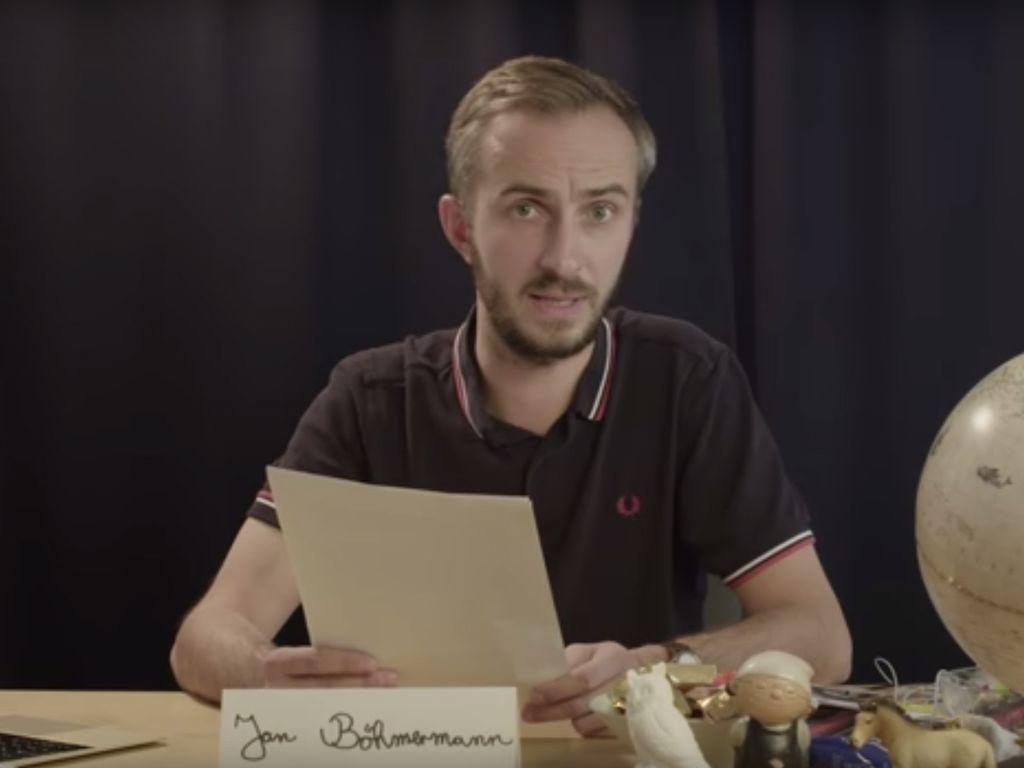 Jan Böhmermann nimmt Stellung zum Verfahrensende