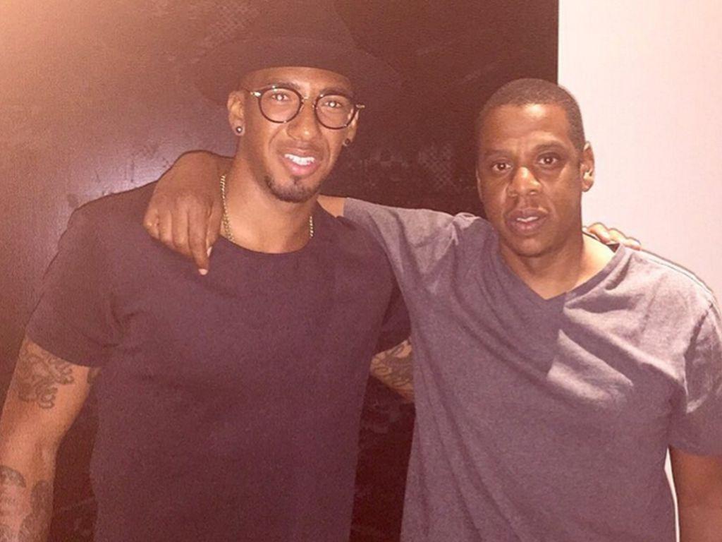 Rapper Jay-Z und Fußballer Jérôme Boateng