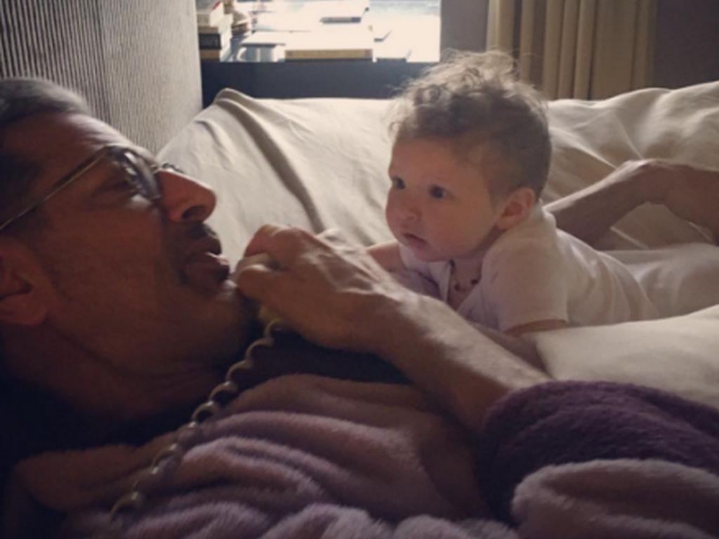 Jeff Goldblum mit seinem Sohn Charlie Ocean