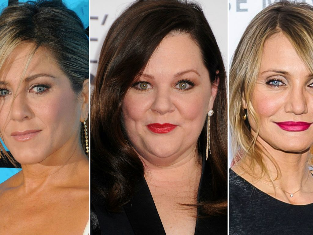 Jennifer Aniston, Cameron Diaz und Melissa McCarthy