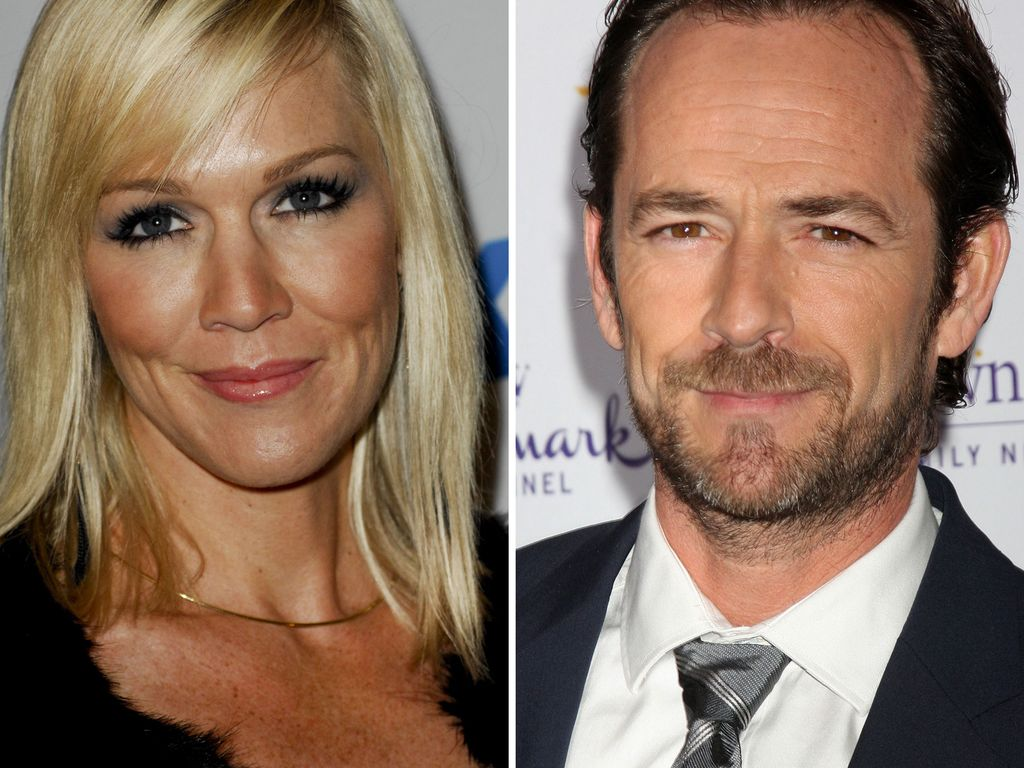 Jennie Garth und Luke Perry
