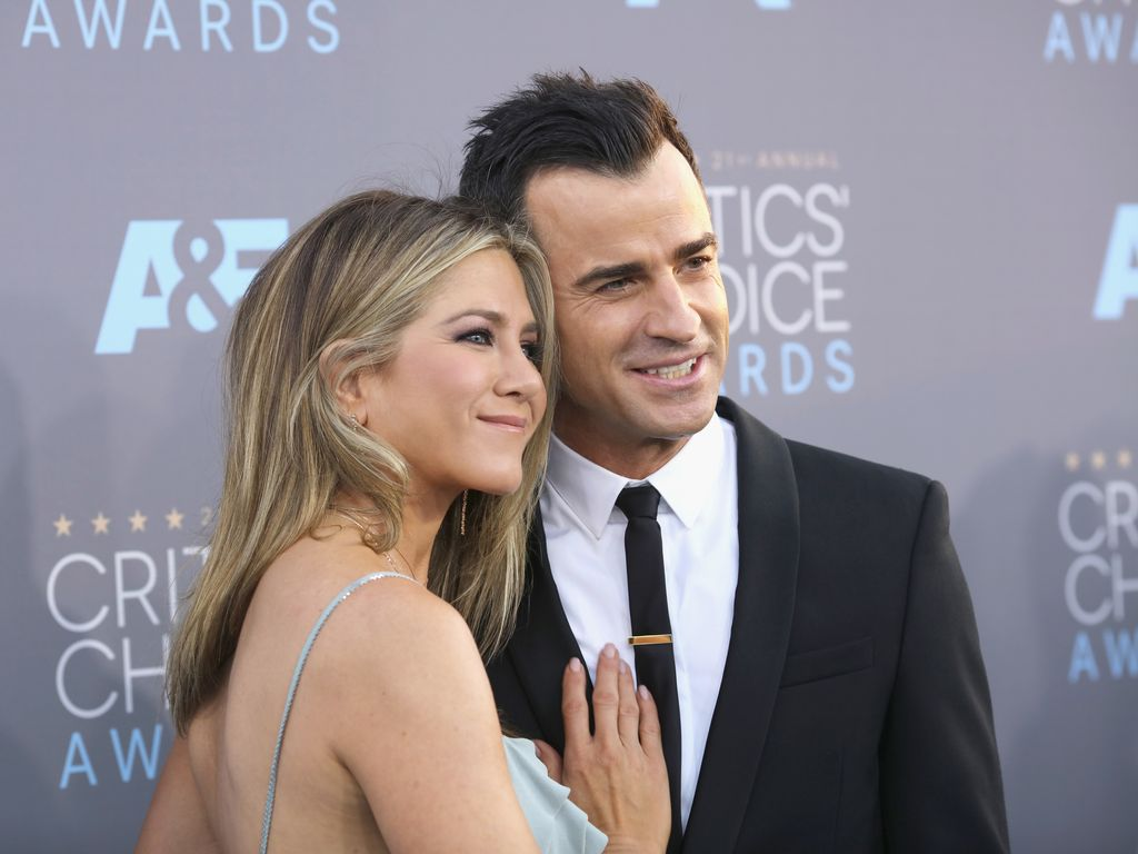 Jennifer Aniston und Justin Theroux 2016 in Kalifornien